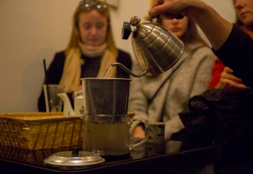Tonkin kafe prague