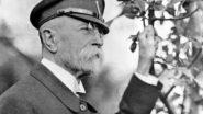 14 November 1918. Tomáš Garrigue Masaryk Is Elected First Czechoslovak President