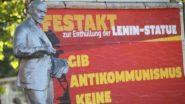 Lenin Statue (Made in Czechoslovakia) Unveiled in Western Germany