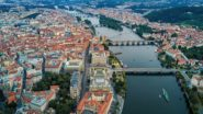 Adventure Flights by Czech Airlines Reveal Prague From a Bird's-Eye View