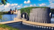 Czech 3D-Printed Floating House is Now Complete
