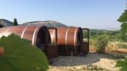A Vineyard in Moravia Lets You Sleep in a Giant Wine Barrel