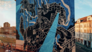 Gallery: Mariusz M-City Waras Brings his Iconic Wall Art to Ostrava