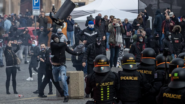Czech Police Detain Nearly 150 At Protest in Old Town Square