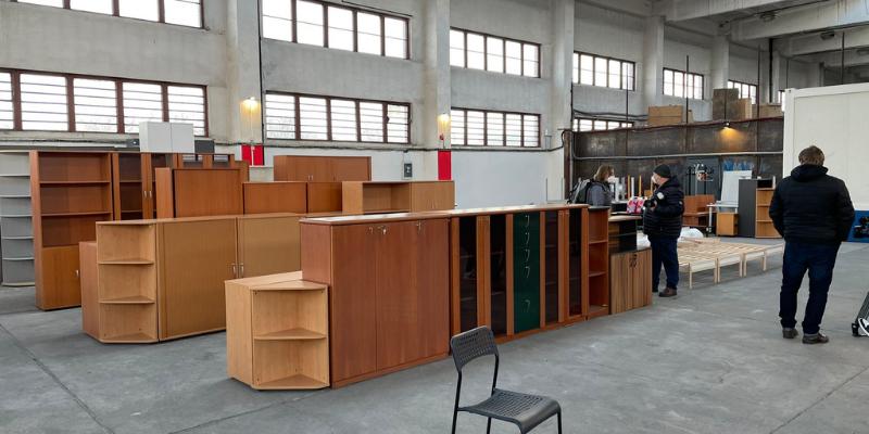 furniture bank prague morning
