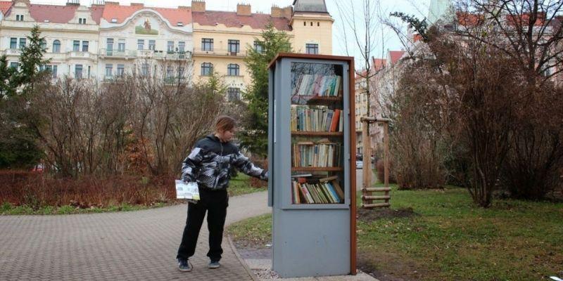 knihobudka prague book
