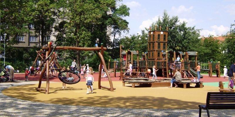 Dětské hřiště U Vodárny