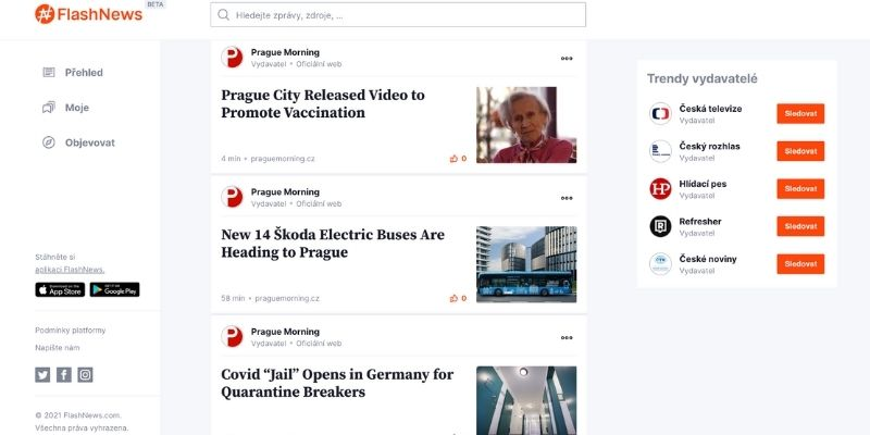 prague morning on flashnews